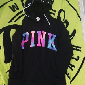 Vs pink hoodie pullover
